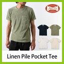 オーガストルーツ リネンパイル ポケットTee【送料無料】【正規品】August Roots|Tシャツ