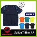 マムート スプライドTシャツ AF メンズ【正規品】MAMMUT Tシャツ 半袖 男性 メンズ Splide T-Shirt AF Men