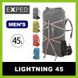 エクスペド ライトニング 45L メンズ 【送料無料】 【正規品】EXPED リュック ザック リュックサック 登山 アウトドア バックパック ロールトップ式 軽量 メンズ 男性 45L LIGHTNING 45