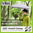 トーツ 折りたたみ傘 A253 ベンテッド キャノピー オートマチック オープン&クローズ ダブルキャノピー アンブレラ|傘|自動開閉|日傘|UV対策|晴雨兼用|折畳|キャノピー|totes|送料無料|雨具|レイングッツ|かさ|カサ|おりたたみ|携帯|メンズ|レディース|大き目|便利グッズ
