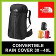 <2016年秋冬新作!>ノースフェイス コンバーチブルレインカバー 30-40L【送料無料】【正規品】雨|雨天|レインカバー|レイン|カバー|ザック|バックパック|スタッフサック|アウトドア|登山|キャンプ|旅行|ライトハイク|トラベル|CONVERTIBLE RAIN COVER 30−40L