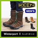 【30%OFF】KEEN キーン ウィンターポート2 メンズ【送料無料】スノーブーツ ウィンターブーツ 男性 レインブーツ 防水 防寒 アウトドア スキー スノーボード 雪山 長靴 Winterboot2