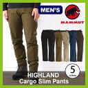 MAMMUT マムート ハイランド カーゴスリムパンツ メンズ【送料無料】マムート パンツ ロングパンツ ソフトシェルパンツ カーゴパンツ HIGHLAND Cargo Slim Pants Men