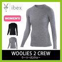 <残りわずか!>【30%OFF】<2016年秋冬新作!>ibex アイベックス 【ウィメンズ】 ウーリーズ2クルー【送料無料】 Women's woolies ...