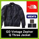 <残りわずか!>【50%OFF】ノースフェイス GD ビンテージゼファーQスリージャケット MA1 MA-1【送料無料】 GD Vintage Zepher Q...