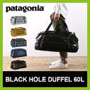 パタゴニア ブラックホールダッフル ボストンバッグ ダッフルバッグ トラベル