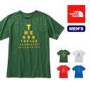 ノースフェイス THE NORTH FACE TNFピラミッドロゴT Tシャツ 半袖 男性 メンズ ロゴ フェス タウンユース オシャレ