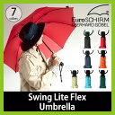ユーロシルム EuroSCHIRM スウィングライトフレックスアンブレラ メンズ レディース 軽量 台風 傘 雨具 レイングッズ かさ カサ 大き目 男女兼用