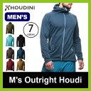 HOUDINI フーディニ メンズアウトライトフーディ 【送料無料】 Mens Outright Houd トップス ジャケット アウター フリース ミッドレイヤー ミドルレイヤー インサレーションジャケット メンズ