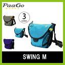 PaaGo WORKS パーゴワークス スイング M ショルダーバッグ ウエストバッグ チェストバッグ 軽量 3WAY