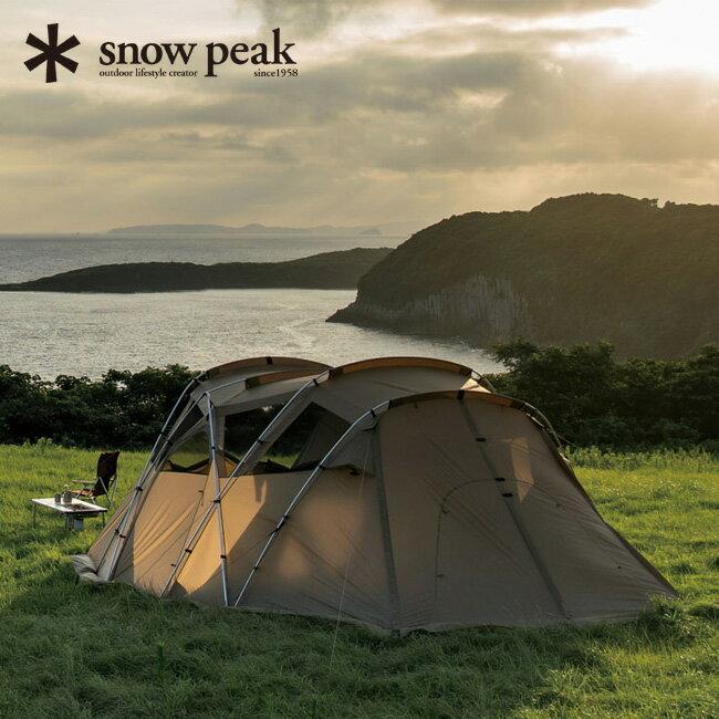 snow peak スノーピーク モーグ Pro.air 【ポイント5倍】 【送料無料】 キャンプ テント シェルター 6人用 寝室 快適 オプション インナールーム インナーテント ドッキング ヴァール ドックドーム