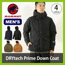 マムート ドライテック プライムダウンコート メンズ MAMMUT DRYtech Prime Down Coat Men 【送料無料】 男性 アウター ダウン 上着 ジャケット アウトドア 冬 雪 防水