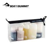 シートゥーサミット SEA TO SUMMIT TPUクリアジップトップポーチ ポーチ 洗面用具 小物 収納 液体 ジェル 17FW