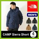 【15%OFF】ノースフェイス キャンプシェラショート THE NORTH FACE CAMP Sierra Short メンズ 【送料無料】 ジャケット アウター ダウンパーカー ダウン