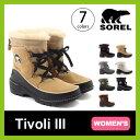 【20%OFF】ソレル ティボリ3【ウィメンズ】 SOREL Tivoli III レディース 【送料無料】 靴 ブーツ スノーブーツ ショートブーツ ショート ウィンターブーツ フリース おしゃれ 雨