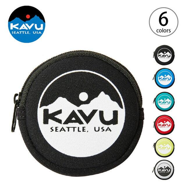 カブー サークルコインケース KAVU Circle Coin Case コインケース 小銭入れ 財布 <2018 春夏>