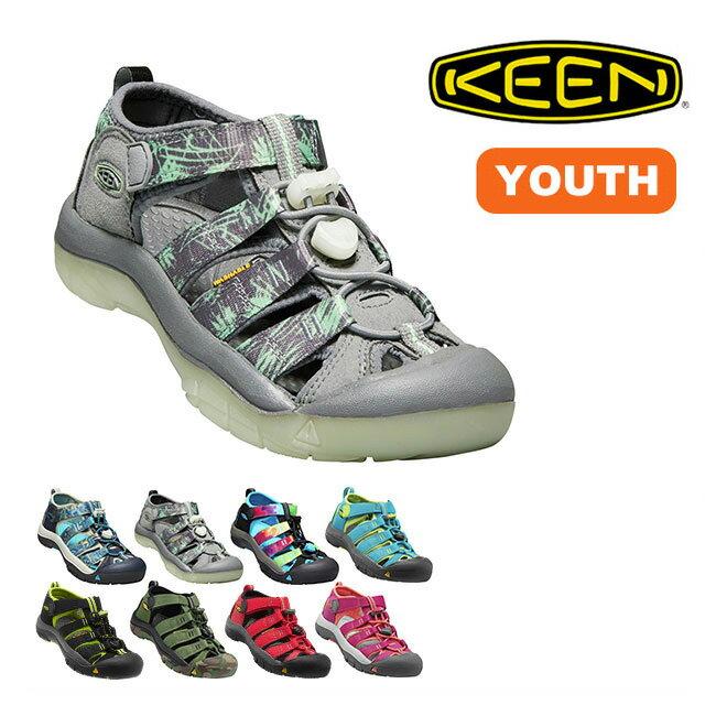 KEEN キーン ニューポート H2 ユース サンダル シューズ 靴 ビーチサンダル 水陸両用 子供 ジュニア ユース キッズ <2018 春夏>