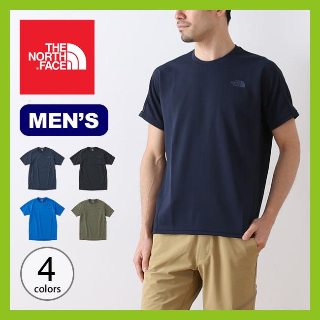 【10%OFF】ノースフェイス S/S フラッシュドライライトクルー メンズ THE NORTH FACE S/S FlashDry Light Crew Tシャツ トップス プルオーバー <2018 春夏>