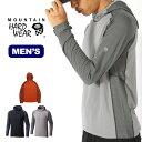 マウンテンハードウェア バターマンプルオーバーフーディー Mountain Hardwear Butterman Pullover Hoody メンズ フリース トップス <2018 秋冬>