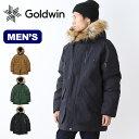 ゴールドウィン N-3B ダウンパーカ GOLDWIN N-3B DOWN PARKA ジャケット アウター ミリタリー フード メンズ 男性 <2018 秋冬>