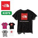 ノースフェイス S/S スクエアロゴTee【キッズ】 THE NORTH FACE Kids' S/S Square Logo Tee Tシャツ トップス ショートスリーブ 半袖 キッズ 子供 NTJ81827 <2019 春夏>