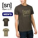 スーパーナチュラル メンズ エッセンシャルID Tee SUPERNATURAL M Essential I.D. Tee トップス Tシャツ カットソー SNM005240 SNM005240 アウトドア 春夏