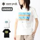 スノーピーク トートラインヒッチTシャツ snow peak TautLineHitch Tshirt ウェア ユニセックス トップス Tシャツ TS-19SU102 アウトドア 春夏