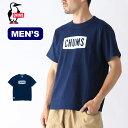 チャムス チャムスロゴTシャツインディゴ メンズ CHUMS CHUMS Logo T-Shirt Indigo Tシャツ トップス カットソー ロゴT メンズ CH01-1483 <2019 春夏>