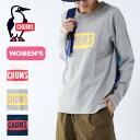 チャムス ボートロゴ L/S Tシャツ【ウィメンズ】 CHU...