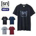 スーパーナチュラル メンズ エッセンシャルID Tee SUPERNATURAL Men's ESSENTIAL ID TEE SNM005240 Tシャツ ロゴ 半袖アウトドア 【正規品】