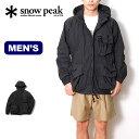 スノーピーク インディゴC/Nパーカ snow peak Indigo C/N Parka メンズ JK-20SU006 ジャケット トップス アウター コート アウトドア 【正規品】