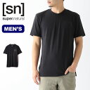 スーパーナチュラル メンズ アクティブTee SUPERNATURAL ACTIVE TEE メンズ SNM015250 トップス カットソー Tシャツ プルオーバー アウトドア <2020 春夏>