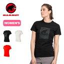 マムート セイルTシャツ ウィメンズ MAMMUT Seile T-Shirt Women クライミング スポーツ アウトドア UVカット <2020 春夏>