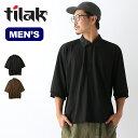 ティラック モンクシャツ tilak MONK SHIRT メンズ トップス Tシャツ ポロシャツ 半袖 【正規品】