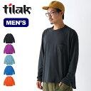 ティラック カラットTee L/S tilak Carat Tee L/S メンズ トップス Tシャツ 長袖 ロンT 【正規品】