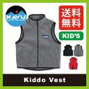【50%OFF】<2015−2016年モデル>カブー キッドゥベスト【キッズ】KAVU Kiddo Vest ベスト|フリース|キッズ|子供用|SALE|セール