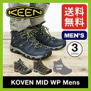 <2016年モデル> キーン コーヴェン ミッド WP メンズ 【送料無料】 KEEN Koven Mid WP Mens 靴 シューズ トレッキングシューズ クライミング 登山 岩場 低山 ハイキング 防水