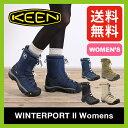 キーン ウィンターポート2 ウィメンズ 【送料無料】 KEEN Winterport 2 スノーブーツ ウィンターブーツ 長靴 レインブーツ 防水 防寒 アウトドア
