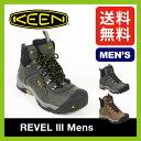 【10%OFF】  KEEN キーン レヴェル3 メンズ【ポイント20倍】 【送料無料】レベル3 靴 トレッキングブーツ 登山靴 ハイキング ミッドカット アウトドア キャンプ トラベル 雪山 防水 タウンユース カジュアル
