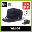 【30%OFF】 ニューエラ WM-01 NEW ERA【正規品】ワークキャップ 帽子 迷彩 ストリート タウン WM-01 SALE セール
