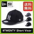 【15%OFF】 ニューエラ 9TWENTY ショートバイザー NEW ERA9TWENTY Short Visor 帽子 アウトドア キャップ スポーツ ヤンキース ドジャース エンゼルス SALE セール