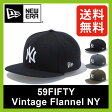 【30%OFF】 ニューエラ 59FIFTY ビンテージフランネル ニューヨークヤンキース 【正規品】NEWERA 59FIFTY CAP VINTAGE FLANNEL NEW YORK YANKEES 帽子 キャップ NY ニューヨーク ヤンキース ベースボールキャップ SALE セール
