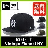 ��30��OFF�� �˥塼���� 59FIFTY �ӥ�ơ����ե��ͥ� �˥塼�衼������� �������ʡ�NEWERA 59FIFTY CAP VINTAGE FLANNEL NEW YORK YANKEES|˹��|����å�|NY|�˥塼�衼��|�����|�١����ܡ��륭��å�|SALE|������