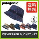 <残りわずか!>【40%OFF】 パタゴニア ウェーブフェアラー バケツ ハット 【送料無料】 【正規品】patagonia 帽子 ハット ナイロンハット サーフハット 撥水 速乾 軽量 紫外線防止 UPF50+ 熱中症対策 Wavefearer Bucket Hat