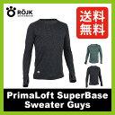 ロイック プリマロフト スーパーベースセーター ガイズ ROJK【送料無料】|メンズ|男性|メリノウール|プリマロフト|シャツ|インナー|
