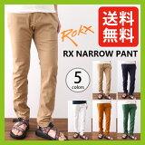 ��Ĥ�鷺�������30��OFF�ۡ�2016ǯ�ղƿ�����å��� RX�ʥ?�ѥ�ġ�����̵���ۡ������ʡ�ROKX|�ѥ��|RX NARROW PANT|SALE|������