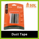 エスオーエル ダクトテープ SOL Duct Tape アウトドア バックカントリー トレッキング 緊急時 非常用 エマージェンシー 軽量 コンパクト 修繕 登山 多目的