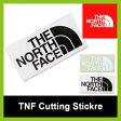 【10%OFF】<2016年春夏新作!>ノースフェイス TNF カッティングステッカー【正規品】THE NORTH FACE|ステッカー|小物|セール SALE