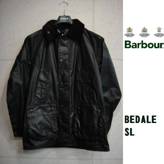 セール Barbour☆BEDALE SL JACKET(BLACK)ビデイルSL(バブアー)BEDAIL