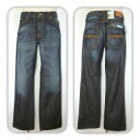 ●NUDIE jeans 【ヌーディージーンズ】 SLIM JIM スリムジム ユーズド加工 28161-1158